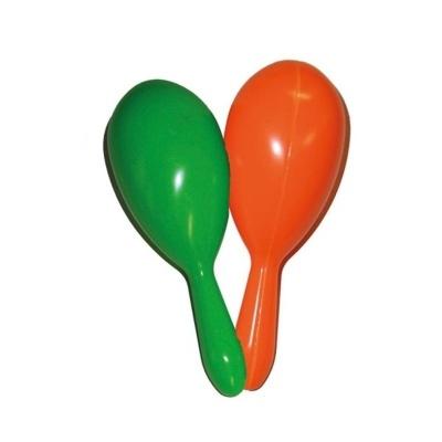 Rumba koule - zelená oranžová