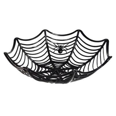 Mísa pavučina černá