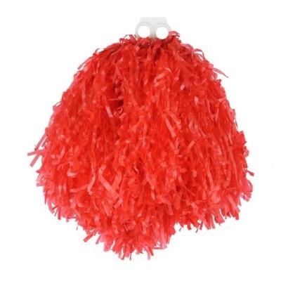 Pompom pro roztleskávačku - červený