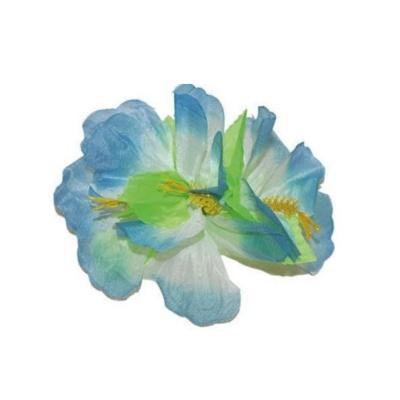 Spona havaj - modré květy 12cm