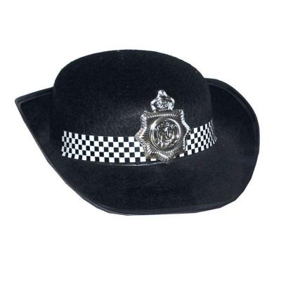 Policejní klobouk dámský černý