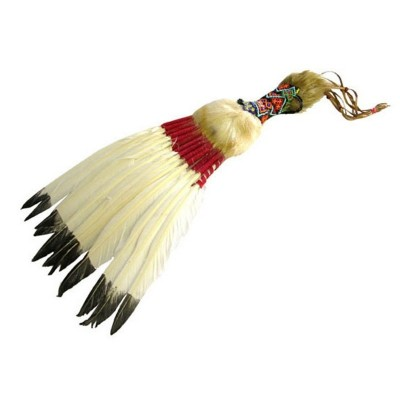 Indiánský vějíř péřový 50cm