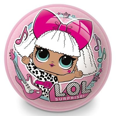 Dětský míč Panenky LOL Surprise 23 cm růžový