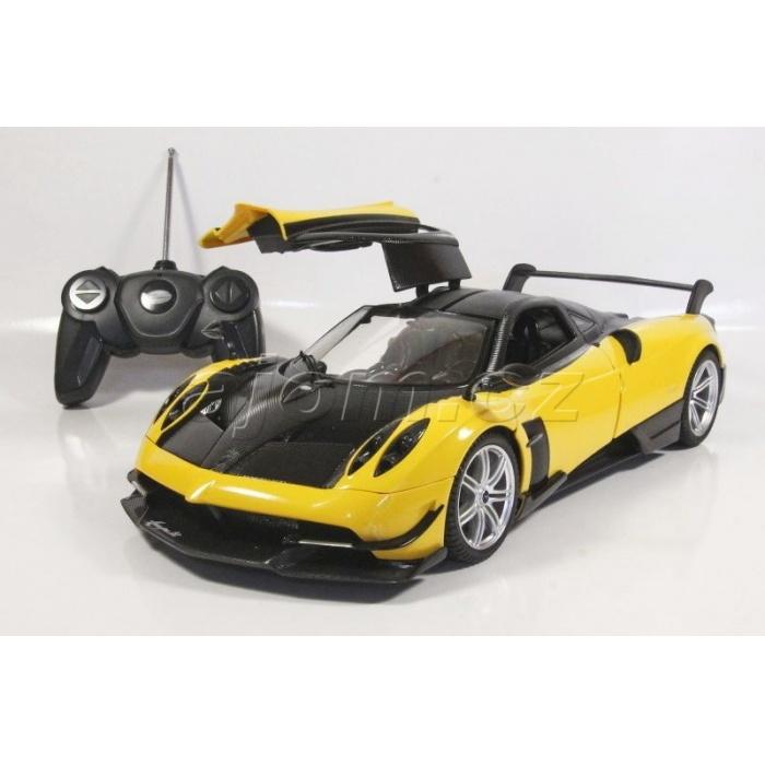 RC model Pagani Huayra BC auto na dálkové ovládání 1:14 žlutá