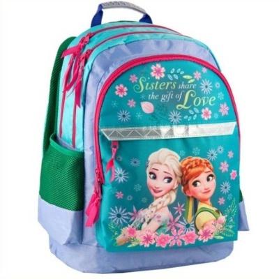 Školní batoh brašna zelená Frozen Ledové království