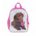 Dětský batoh malý růžový pes