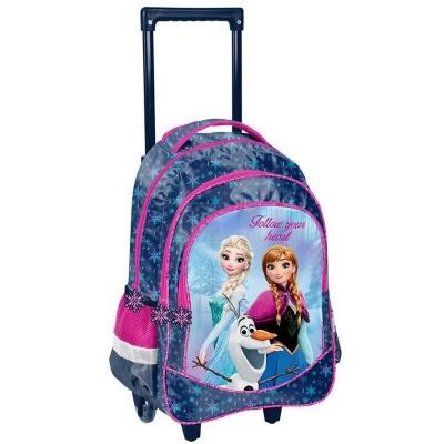 Cestovní batoh na kolečkách s vysouvací rukojetí Frozen Ledové království Follow