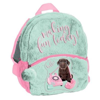 Plyšový batoh malý Pes s telefonem