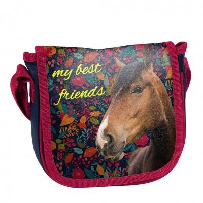 Kabelka taška přes rameno barevná Kůň
