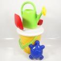 Hračky na písek - kýblík, konvička a doplňky