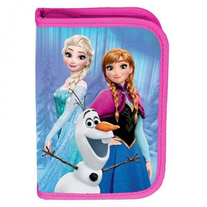 Školní pouzdro penál Frozen Ledové království Follow - s chlopněmi