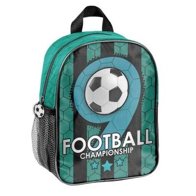 Dětský batoh malý zelený Fotbal