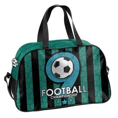 Dětská sportovní taška kabela zelená Fotbal