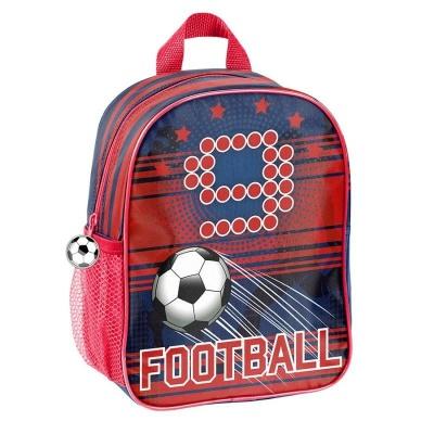 Dětský batoh malý červený Fotbal