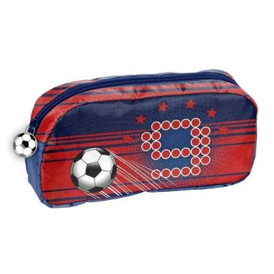 Školní pouzdro taštička červená Fotbal