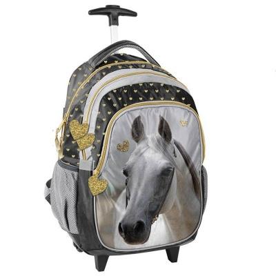 Cestovní batoh na kolečkách s vysouvací rukojetí Zlatý Kůň