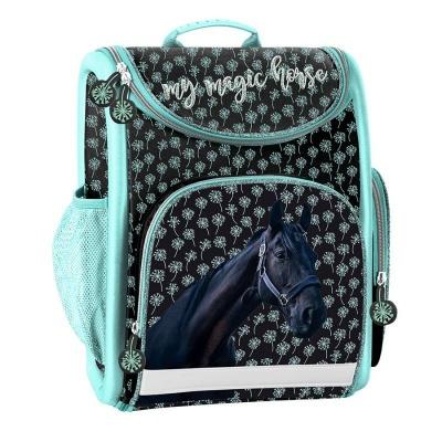 Luxusní školní batoh aktovka Kůň Magic i pro prvňáčky