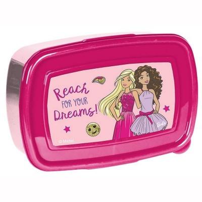 Svačinový box krabička na oběd Barbie Dreams