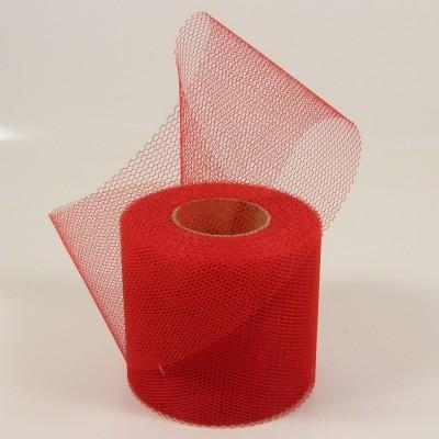 Tylová stuha červená 20m x 7,5cm