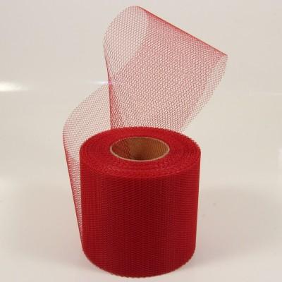 Tylová stuha tmavě červená 20m x 7,5cm