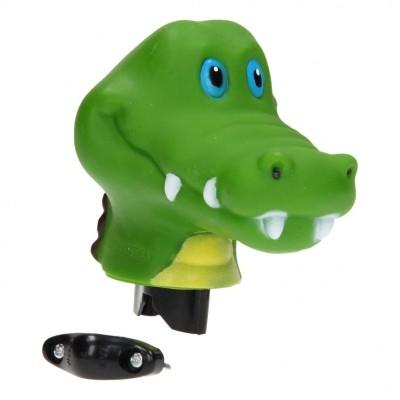 Zvonek na kolo krokodýl 12cm
