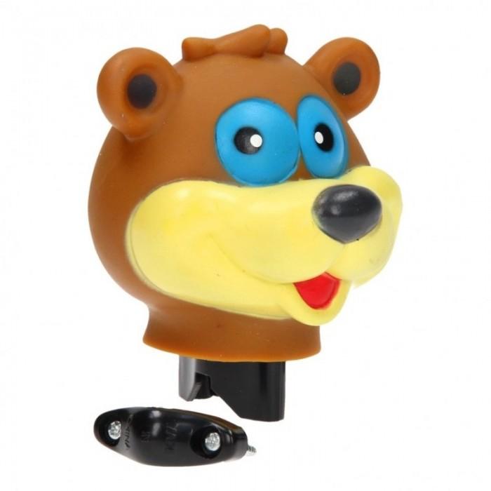 Zvonek na kolo medvěd 12cm