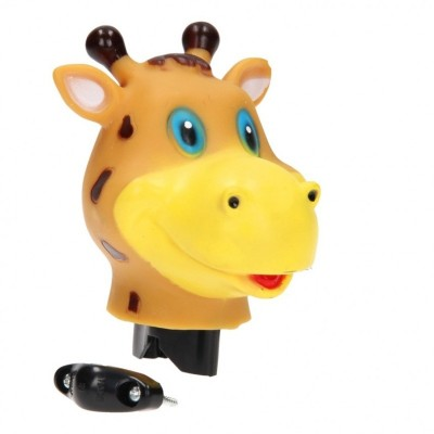 Zvonek na kolo žirafa 12cm
