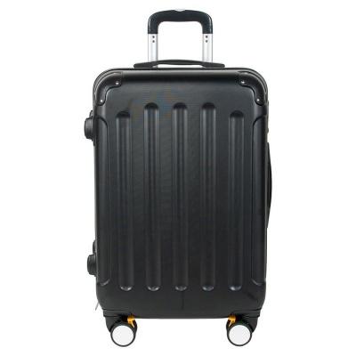 Cestovní kufr ABS černý střední