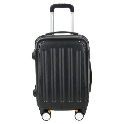 Cestovní kufr ABS černý menší