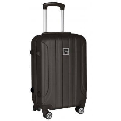 Cestovní kufr zavazadlo ABS černý menší