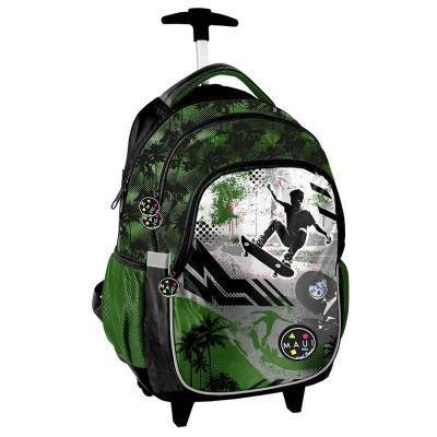 Cestovní batoh na kolečkách s vysouvací rukojetí Maui and Sons Skater