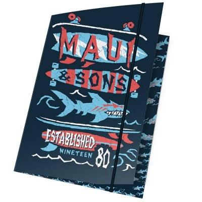 Desky s gumou A4 Maui and Sons Shark
