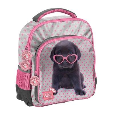 Dětský batoh malý Pejsek štěně s brýlemi