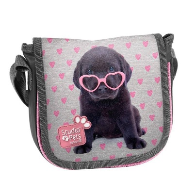 Kabelka taška přes rameno Pejsek štěně s brýlemi