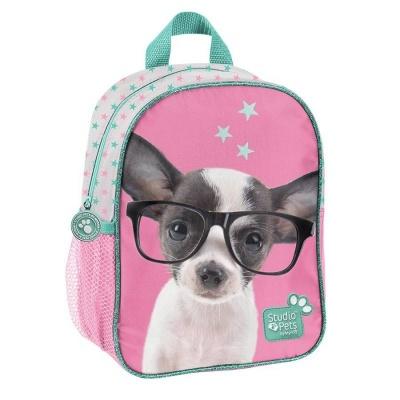 Dětský batoh malý Pejsek čivava s brýlemi