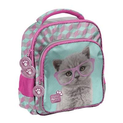 Dětský batoh malý Kočka Happy