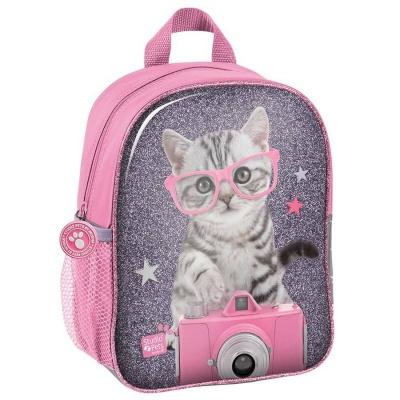 Dětský batoh malý Kočka s foťákem
