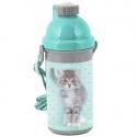 Plastová láhev 500ml Kočka s mašličkou