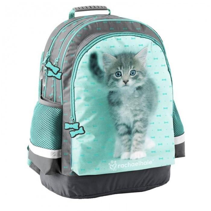 Školní batoh brašna Kočka s mašličkami