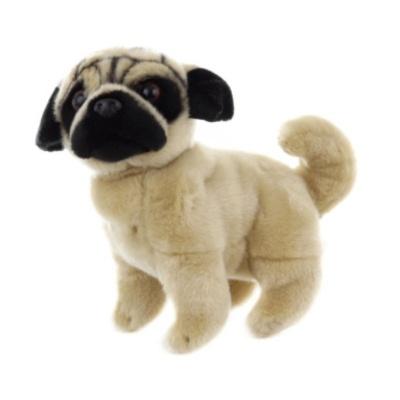 Plyšový pes Mops 26cm