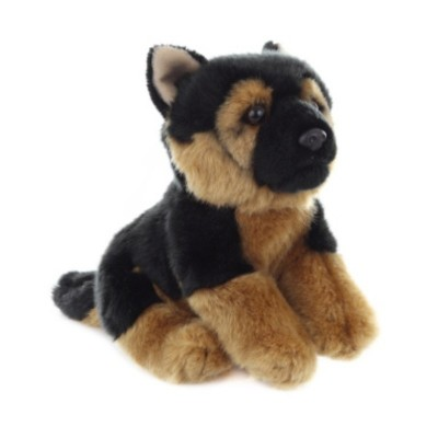 Plyšový pes Německý ovčák štěně 29cm