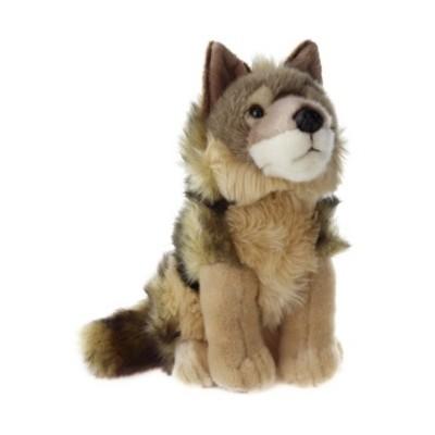Plyšový Kojot sedící 28 cm