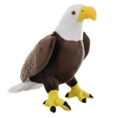 Plyšový pták Orel bělohlavý velký 36 cm