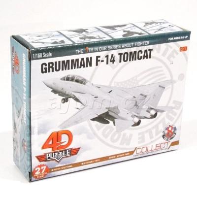 Stavebnice 4D letadlo - Grumman F-14 Tomcat