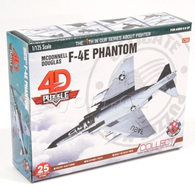 Stavebnice 4D letadlo - F-4E Phantom