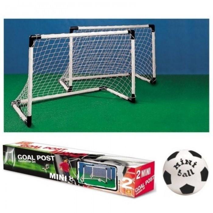 Sada mini fotbal - 2x branka a míč
