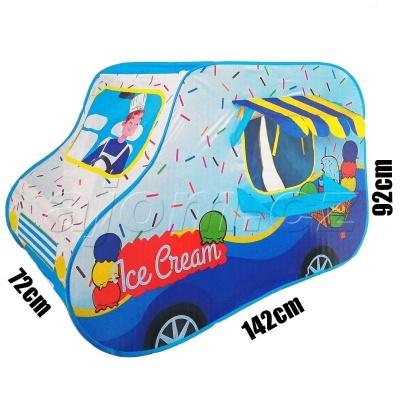 Dětský stan na hraní Zmrzlinářské auto