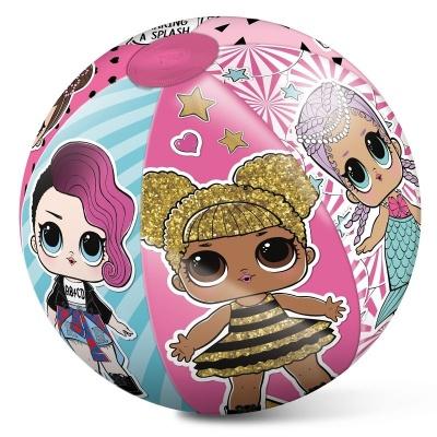 Nafukovací plážový míč Panenky LOL surprise