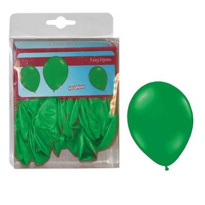 Balónky zelené - 40ks
