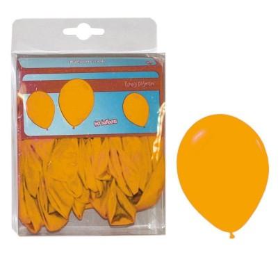 Balónky oranžové - 40ks